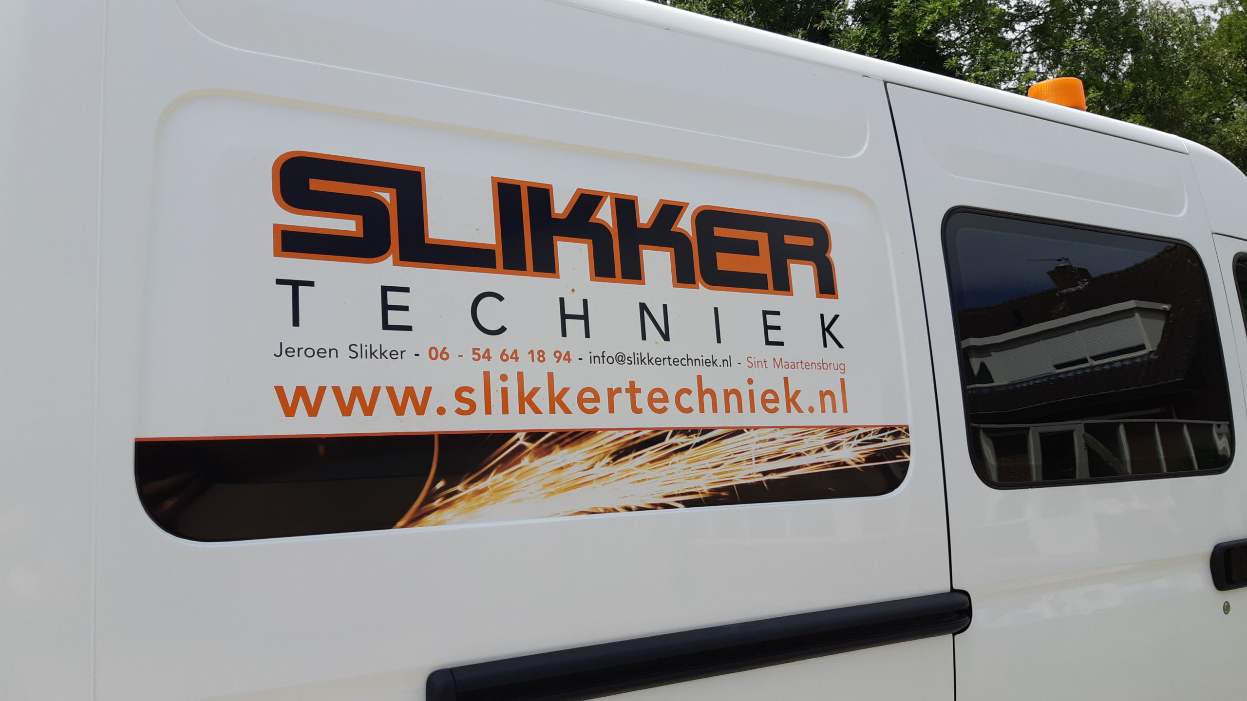 Bus Slikker Techniek Lasser Schagen